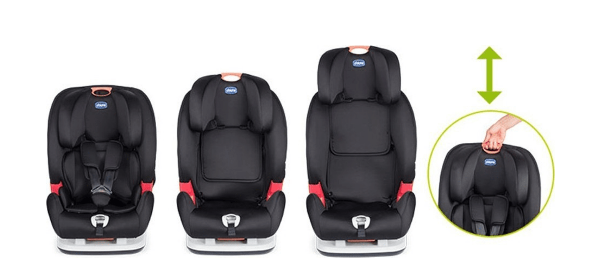 Youniverse Group 1 2 3 9 36kgs Ever Growing Car Seat