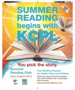 ParentingInNKY ~ KCPL Summer Reading Club Kicks off with Superheroes, Puppets and a Carnival