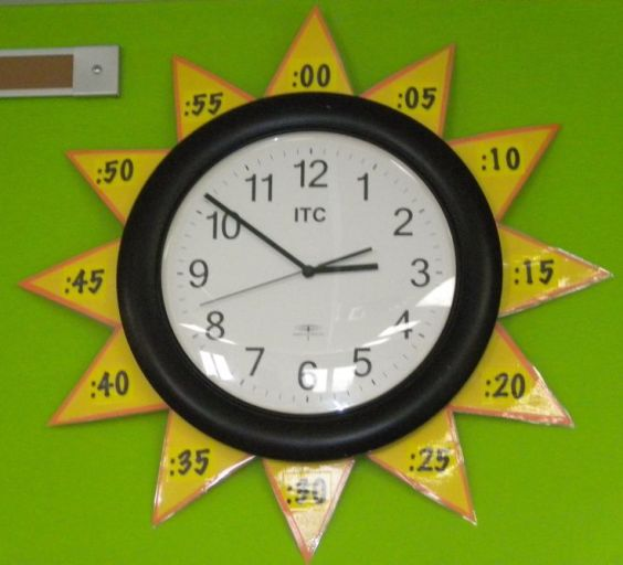 """Learning to tell time with a """"Sun Clock"""" _ Parenting In Northern Kentucky"""