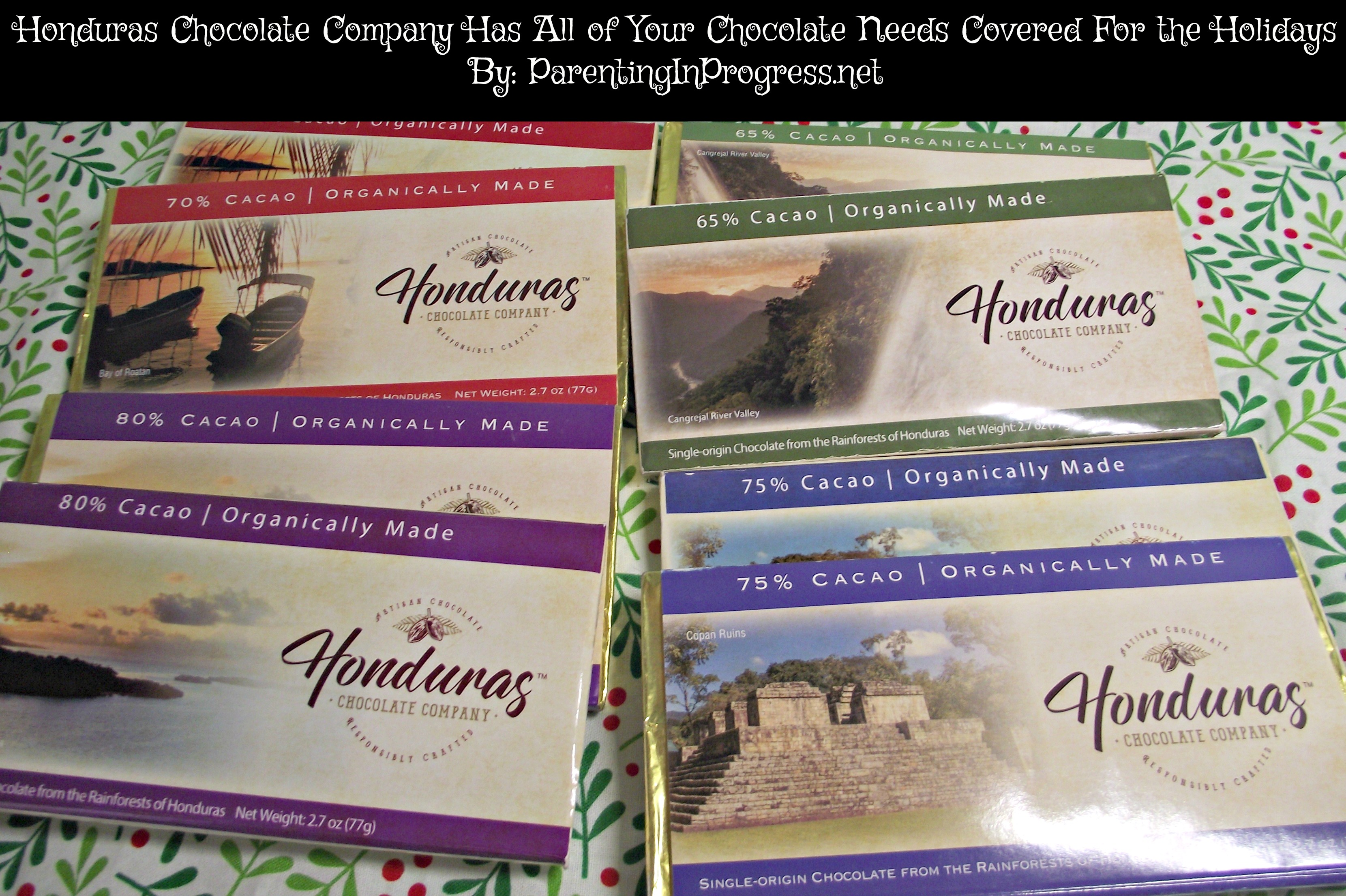 Honduras Chocolate Company Has All of Your Chocolate Needs Covered for the Holidays