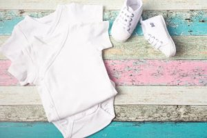 parentinglately/ baby onesie/new mom