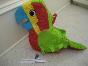 Prayer Pinatas: Involving the Children in Your Congregation - Parenting Like Hannah