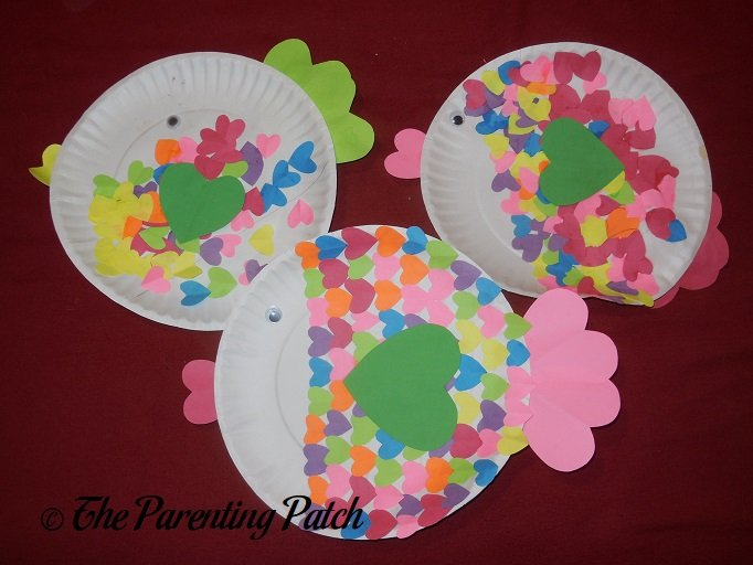 Paper Plate Wreath Paper And Construction Paper