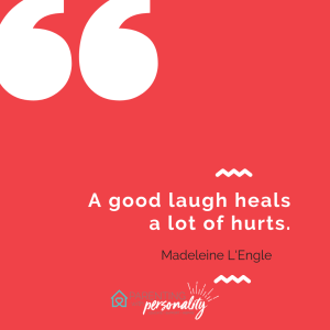 laugh quote Madeline L'Engle