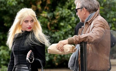 Kevin Costner and Amber Heard star in action movie 3 Days to Kill