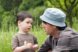 Parent enfant écouter échange question