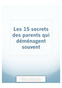 Image 15 secrets de parents experts