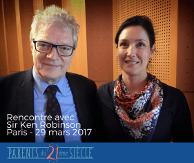 Ken Robinson Magali Parents 21eme siecle