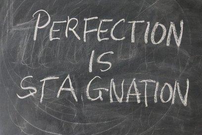 la perfection est l'immobilité