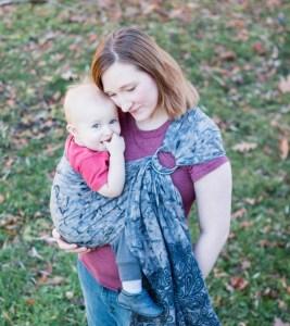 Portage bébé sling