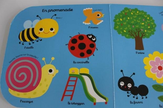 livre pour bébé avec des animaux aux traits grossiers