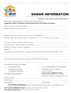 EVCS Gala_DONOR FORM_2013