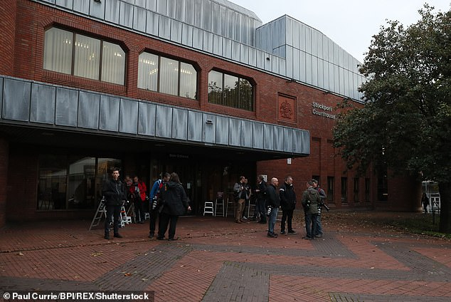 At Stockport magistrates¿ court, Thornton, of Cheadle, Greater Manchester, admitted drink driving and was disqualified for 18 months. Seen here is a file photo of the court