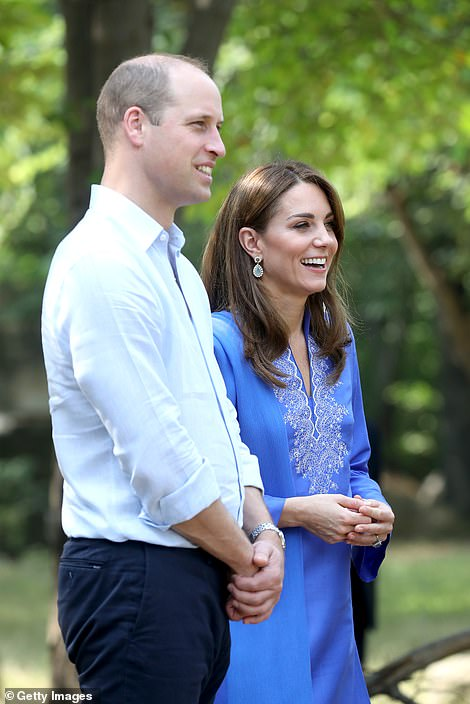 The Duke and Duchess of Cambridge in Islamabad today