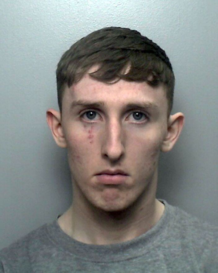 Joseph Trevor was sentenced to life in prison for raping and murdering Megan Newton at her bedsit (PA)
