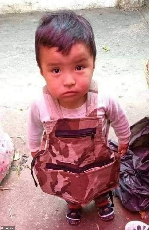Dylan Gómez was found in good health and was seen by a pediatrician