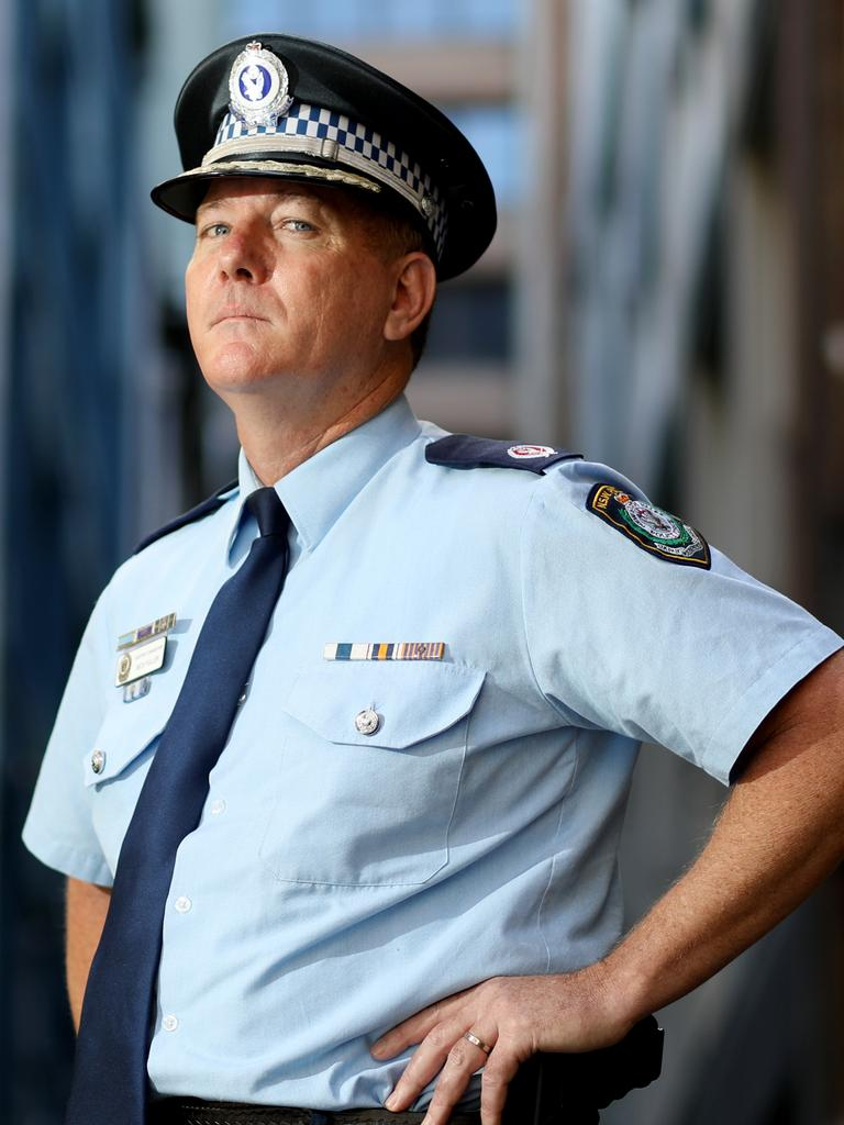 Fittler has the support of police commissioner Mick Fuller. Picture: Brianne Makin