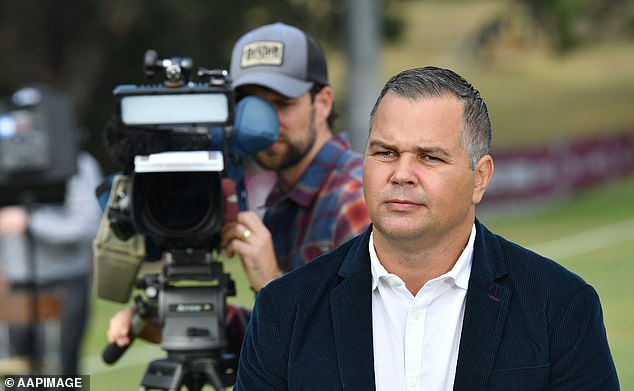 'My reputation was ruined in a lot of respects': The short teaser clip also saw former Brisbane Broncos coach Anthony Seibold discuss his experiences being subjected to online trolling