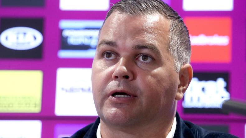 Former Brisbane coach Anthony Seibold will speak out on cyber bullying after his brush with trolls in 2020. Picture: Getty Images.