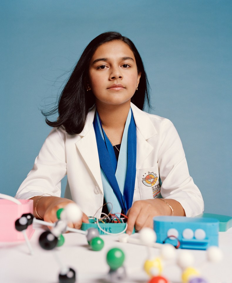 Gitanjali Rao loves to problem-solve and experiment with everything from artificial-intelligence technology to baking