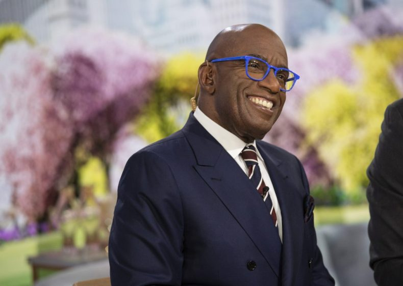 Al Roker in a suit and tie, smiling on the 'Today Show'