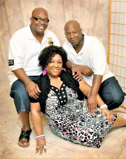 Thomas (upper right), with his parents, David and Dianne Thomas, was always stylish and loved his white Ralph Lauren polo, his cousin Renisha Thomas said.