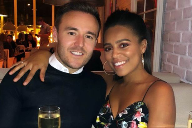Alan Halsall is now in a relationship with another former co-star - Tisha Merry