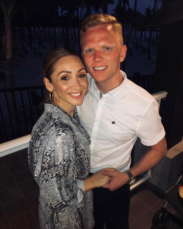 Lucy-Jo Hudson and new man Lewis Devine