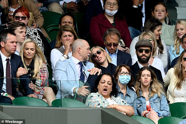 The couple put on a loved up display as they sat among the crowds at Centre Court and attended the Wimbledon Championships Tennis Tournament at All England Lawn Tennis and Croquet Club