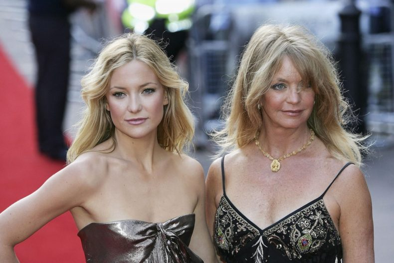 """Kate Hudson and Goldie Hawn attending the premiere of """"Skeleton Key"""" in 2005"""