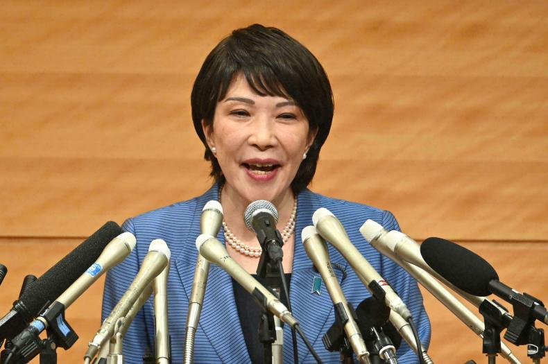 Takaichi is a hawkish nationalist and only the second politician to declare she will stand for the ruling party's leadership