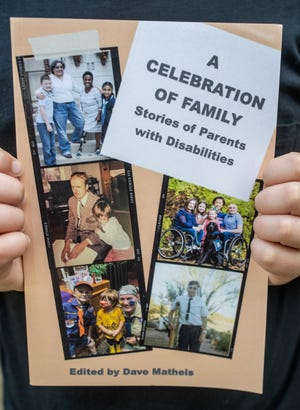 """The cover of the new Louisville Center for Accessible Living's published book titled, """"A Celebration of Family.""""  Oct. 4, 2021"""