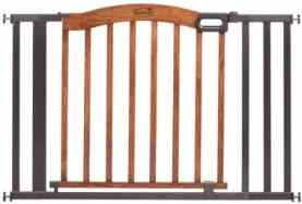 Summer Infant Decorative Wood & Metal Pressure Mounted Gate
