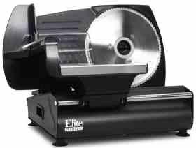 Elite Gourmet EMT-503B Electric Food Slicer