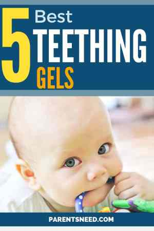 Review of the top 5 best teething gels for your baby