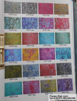 Hand Stamp Bali Fabrics