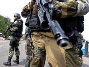 Żołnierze / wojsko / separatyści / Ukraina / wojna /