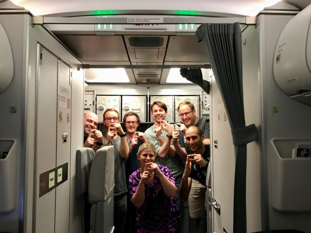 Cocoaheads Members on a Plane