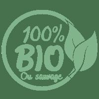 icône 100% bio