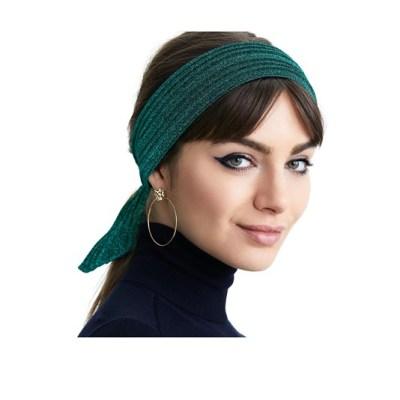 Плиссированная повязка на голову