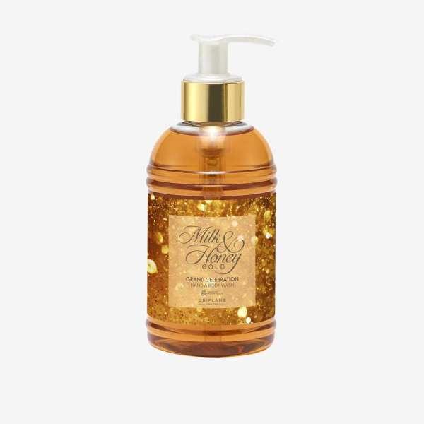 Жидкое мыло для рук и тела Milk & Honey Gold