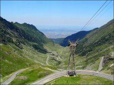 Pohed na údolí města Sibiu