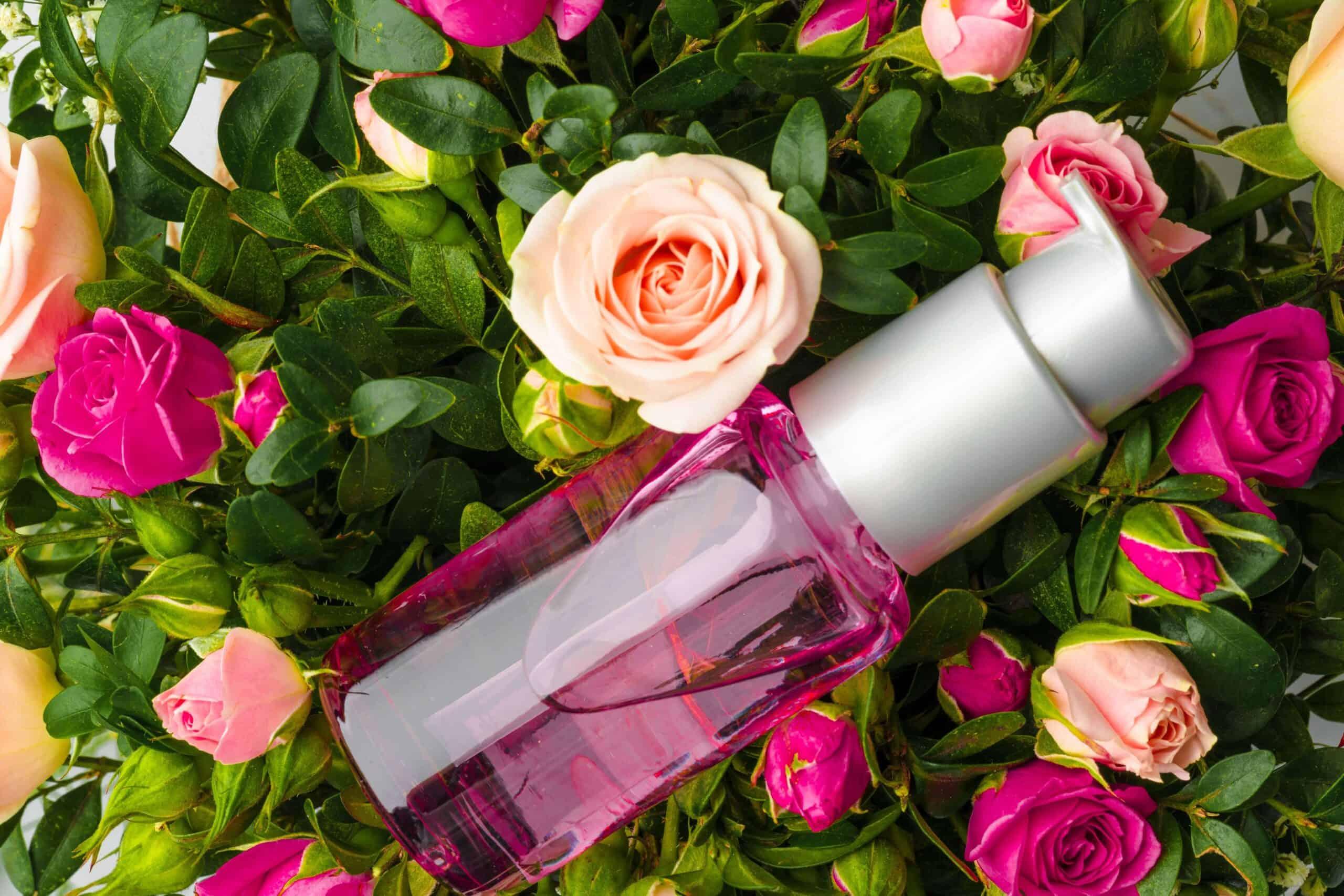 bottle-of-fragrance-or-aromatic-oil-in-a-bunch-of--TXH3HWL-min