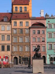 varsovie vieille ville sirène