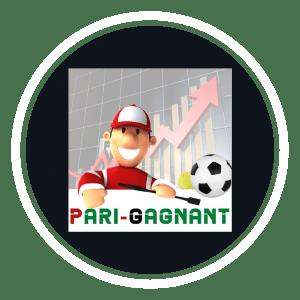 Logo Pari-Gagnant.com réseaux sociaux instagram Youtube facebook