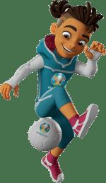 Skillzy la mascotte de l'Euro 2020 Un free styler - Pari-Gagnant.com