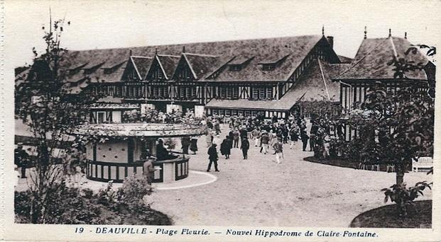 Hippodrome de Clairefontaine à deauville - Pari-Gagnant