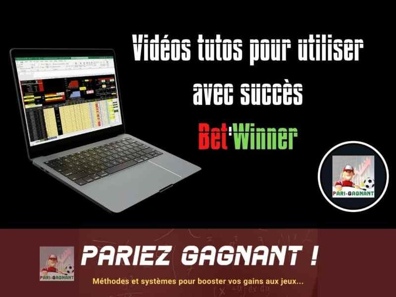 Vidéos Tutos gestion financière Bet'Winner - Gagner au turf et aux paris sportifs - Pari-Gagnant.com