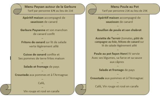 menus 1