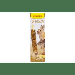 Benelux sticks XXL konijn fruit / beschuit